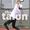 The Argyle tennis team competes in the Regional Quarterfinals against Melissa at Carrollton Ranchview High School in Carrollton, Texas on   Oct 22, 2018. (Lauren Metcalf / The Talon News)
