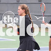 The Argyle tennis team plays in the Regional Semi-finals against Springhill at Grapevine High School in Grapevine, Texas on October 25, 2018. (Lauren Metcalf / The Talon News)