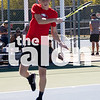 The Argyle tennis team competes against Whitesboro in the Regional Quarter-finals at Krum High School on October 22, 2019. (Katie Ray | The Talon News)