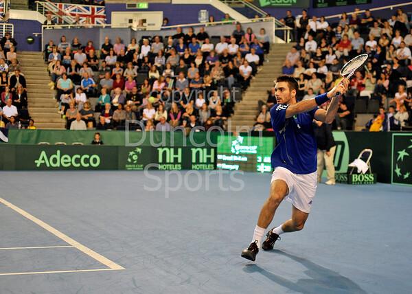 2011 Davis Cup BNP Paribas Great Britain v Hungary  Glasgow Sep 18th