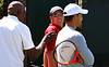 Tennis - Sony Open - Richard Williams and Ivan Lendl