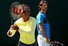 Tennis - Sony Open - Serena Williams and Patrick Mourataglou