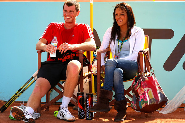 Jamie Murray and wife Alejandra