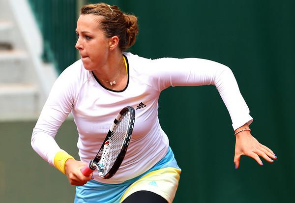 Tennis - Roland Garros - Anastasia Pavluchenkova