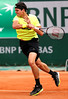 Tennis - Roland Garros - Milos Raonic