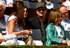 U2's Bono watches the action during the Final