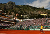 Spain's Rafael Nadal in action during his 7th straight Monte-Carlo Masters Series tournament victory in a row.