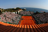 Rafael Nadal plays David Ferrer amid the spectacular surroundings of Monte-Carlo