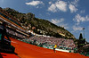Spain's Rafael Nadal in action in Monte-Carlo