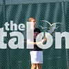 The Argyle Eagles Tennis team competes at a tennis tournament taking place at Argyle Highs courts on 8-20-19 (Alex Daggett/The Talon News)