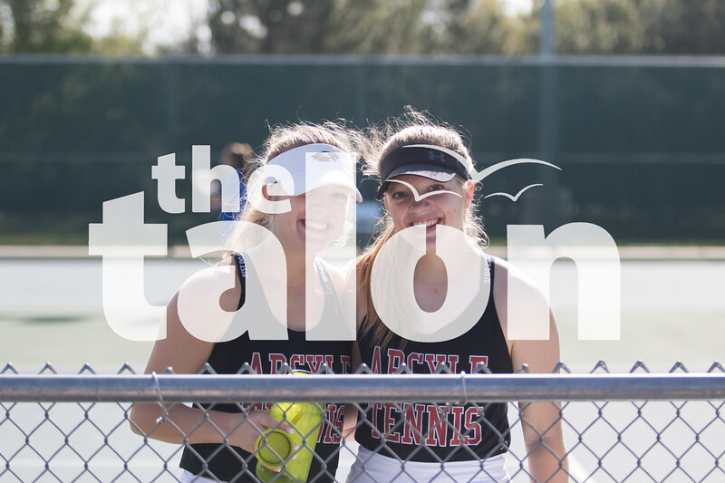 The Argyle Eagles compete in the district tournament at Argyle High School, in Argyle,TX. April 5, 2019, (Georgia Penn / The Talon News)