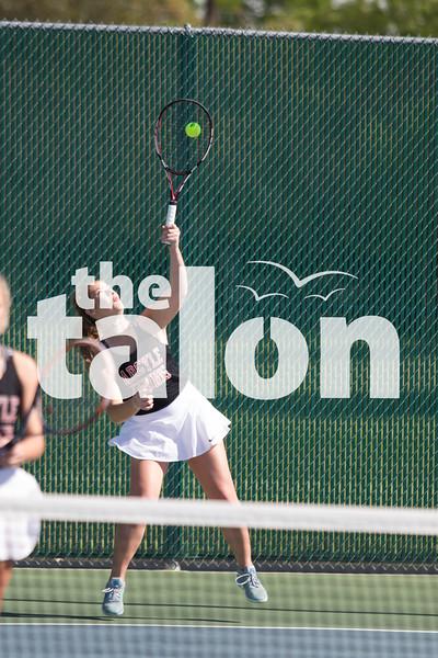 The Argyle Eagles compete in the district tournament at Argyle High School, in Argyle,TX. April 5, 2019, (Georgia Penn / The Talon News)