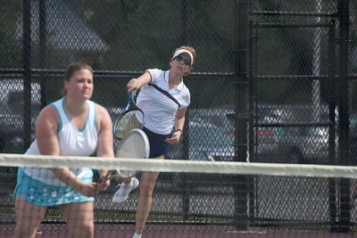 2009 USTA District Playoffs - Sarah Mercer, Carly Plescia