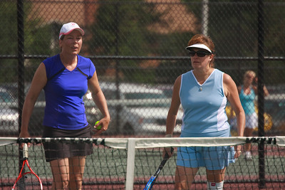 2009 USTA District Playoffs - Julie Stevenson, Diane Williams