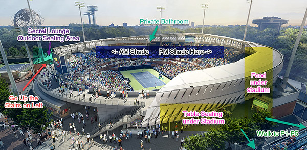 us open grandstand map