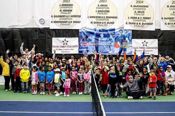 2014 Challenger of Dallas Jr. Clinic