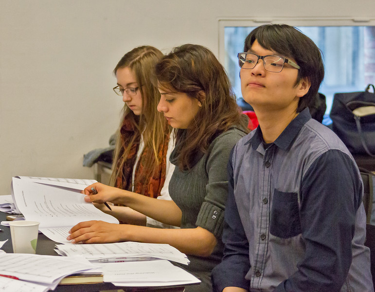Tenso Young Composers Workshop 2016 students