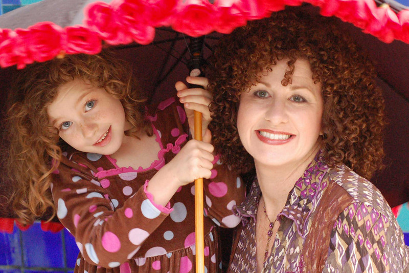 Mom and daughter. Photo, hair and makeup by Teresa Callen.