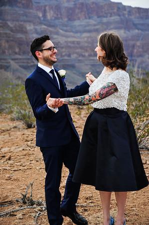 Spectacular Las Vegas Grand Canyon Wedding
