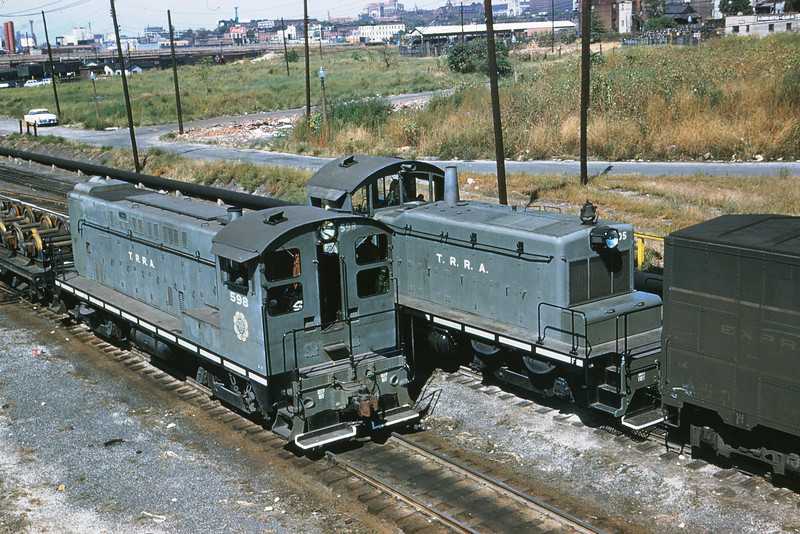 TRRA 29 - Sep 24 1956 - BLW and EMD @ Ewing  Ave  St Louis MO