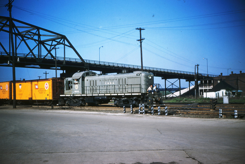 TRRA 18 - May 29 1956 - Alco GE no  120 @ East St Louis relay depot