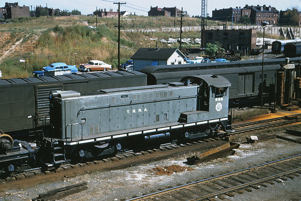 TRRA 28 - Sep 24 1956 - BLW SW no  598 at Ewing Ave  St Louis MO