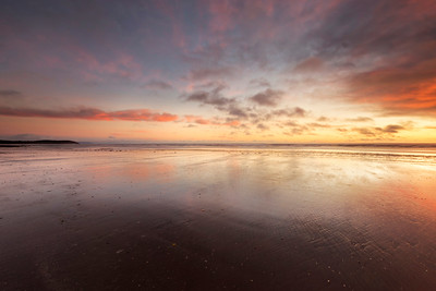 Reflections at Dawn, Seapoint Beach -IMG_7326