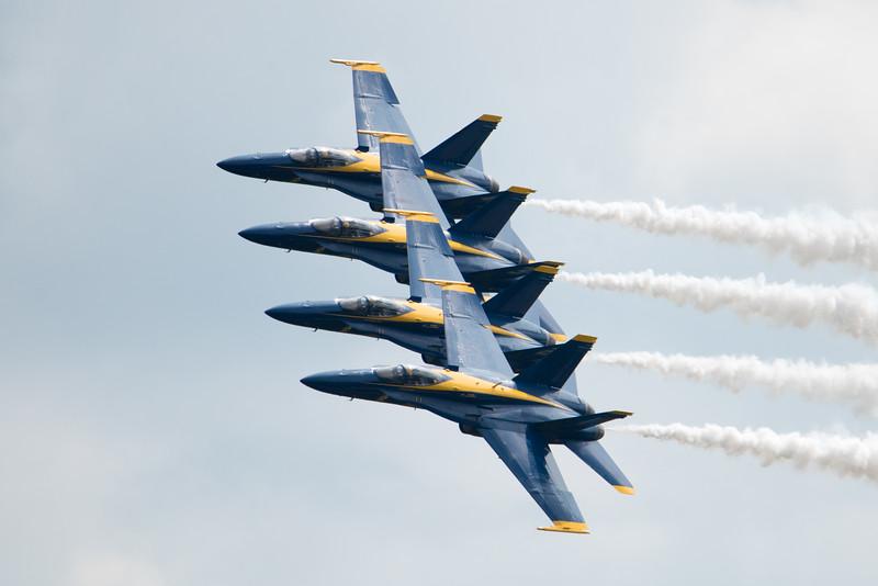 Terre Haute Air Show 2018 Blue Angels   Brendan Kearns