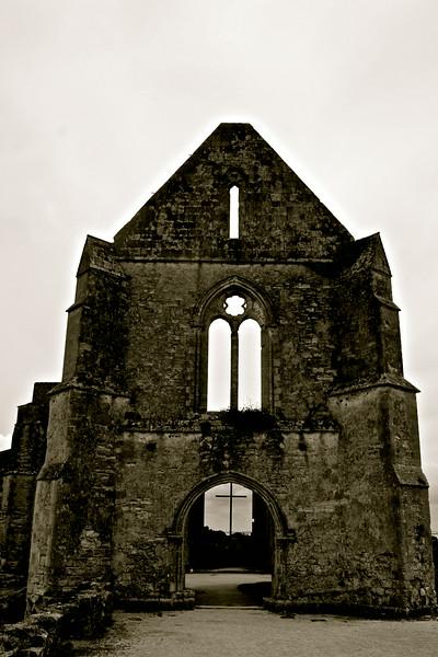 Abbaye des Châteliers, île de Ré