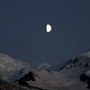 Des sommets sous la lune