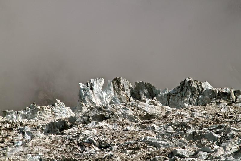 Séracs, glacier des Bossons