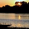 Bord de Loire au crépuscule