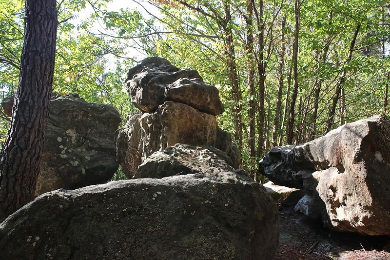 Les pierres tremblantes