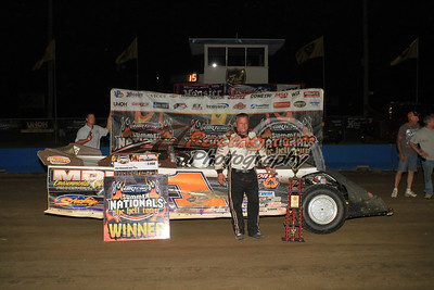 O'Neal Slides to Terre Haute Action Track DIRTcar Summer Nationals Victory