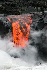 Kilauea Ocean Entry, V-06