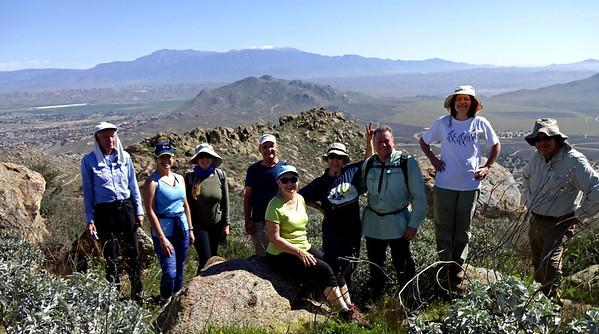 Terri Peak Hike w/ Sierra Club, Lake Perris CA March 30, 2018