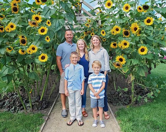 Stacy Family Sunflowers 8x10