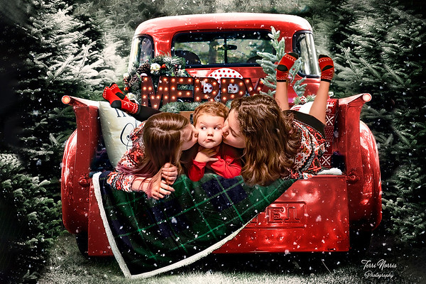 4x6 red truck kiss