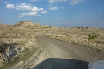 Road to the Terry Badlands