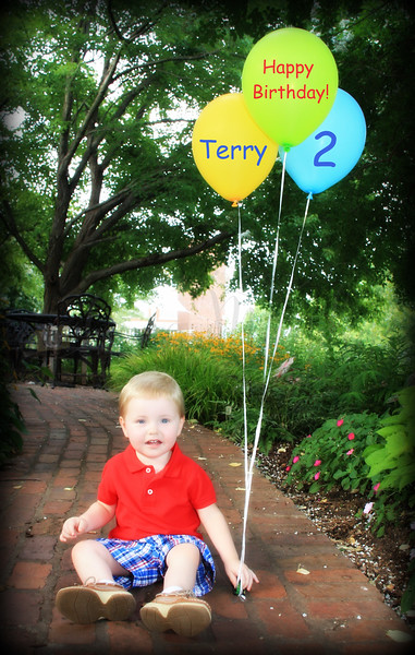 Terry T. 2nd Birthday