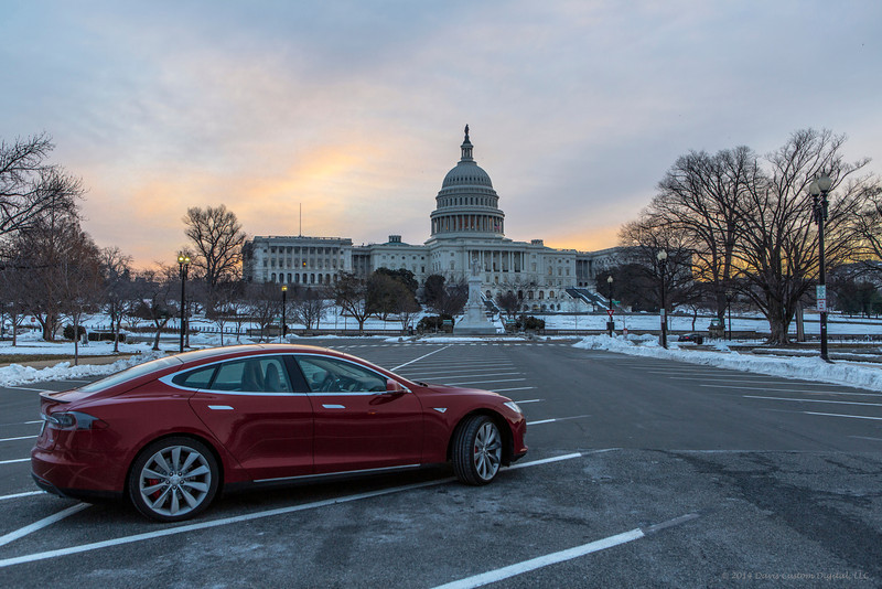 2014 Tesla Model S P85+ - Waiting!