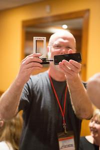 Lanny Hartmann receives an iPhone Supercharger