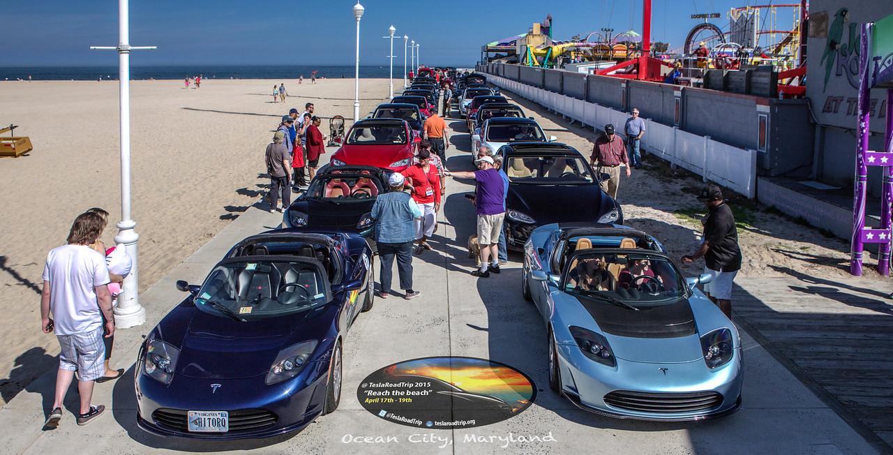Ocean City MD Boardwalk Staging 2x2