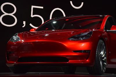 Tesla Model 3 Unveil
