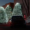 Tesla Ruby Holiday Light Show #1 Fuquay