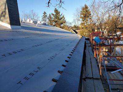 Tesla Solar Roof Installation - Glenview, IL L
