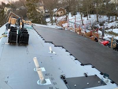 Tesla Solar Roof Installation