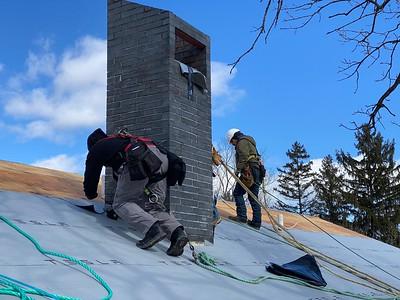 Tesla Solar Roof Instalation