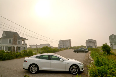 Tesla foggyMorning 07019
