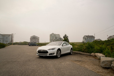 Tesla Maine fog 07034
